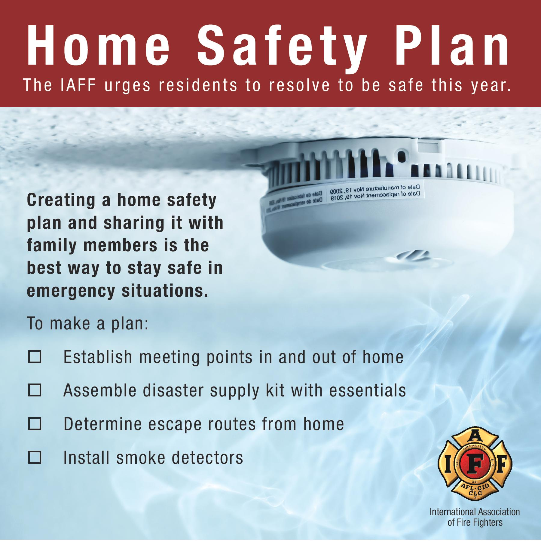 Fire safety plan for your home house design ideas Home fire safety plan